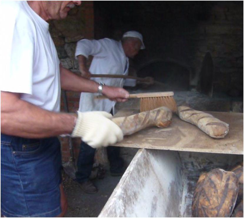 Le pain est sorti du four