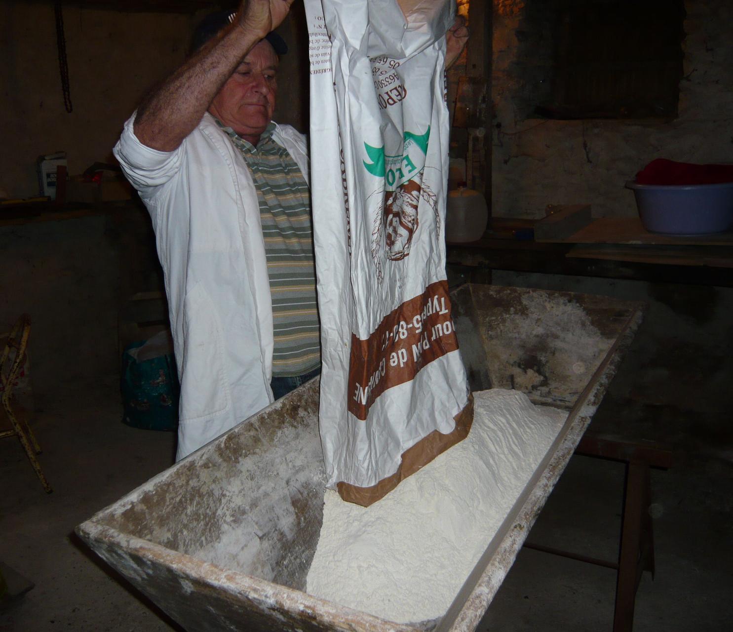 LA FARINE (25 kgs)