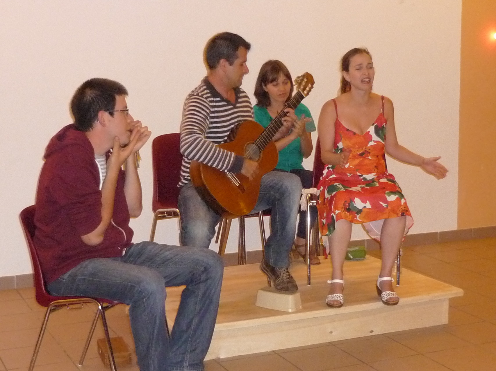 GROUPE FLAMENCO + ADRIEN
