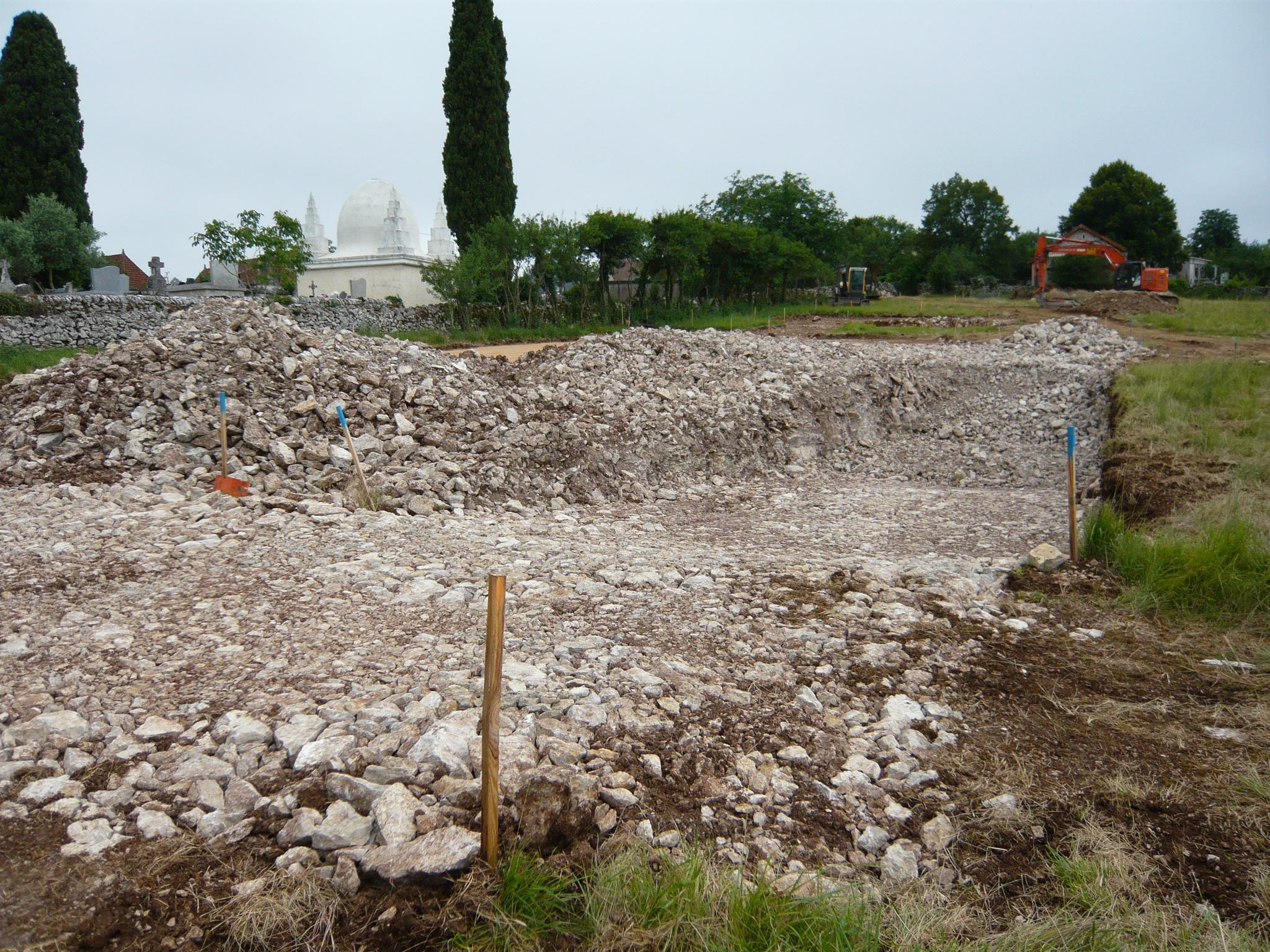 09 juillet : quatrième rangée d'emplacements