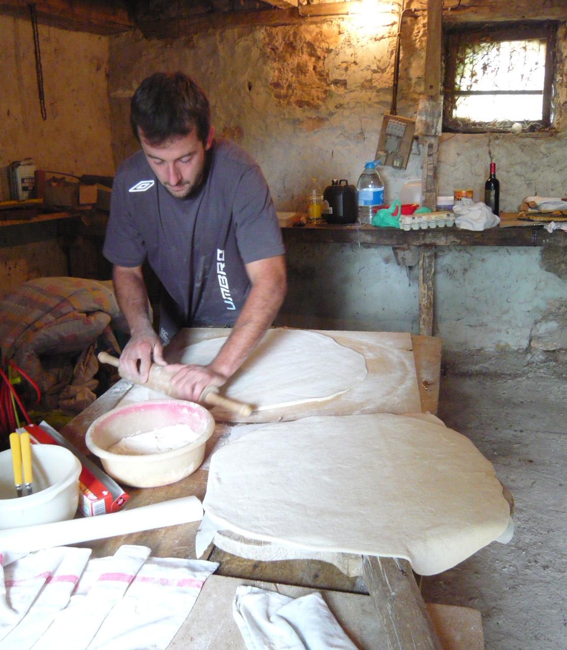 PREPARATION DES PIZZAS