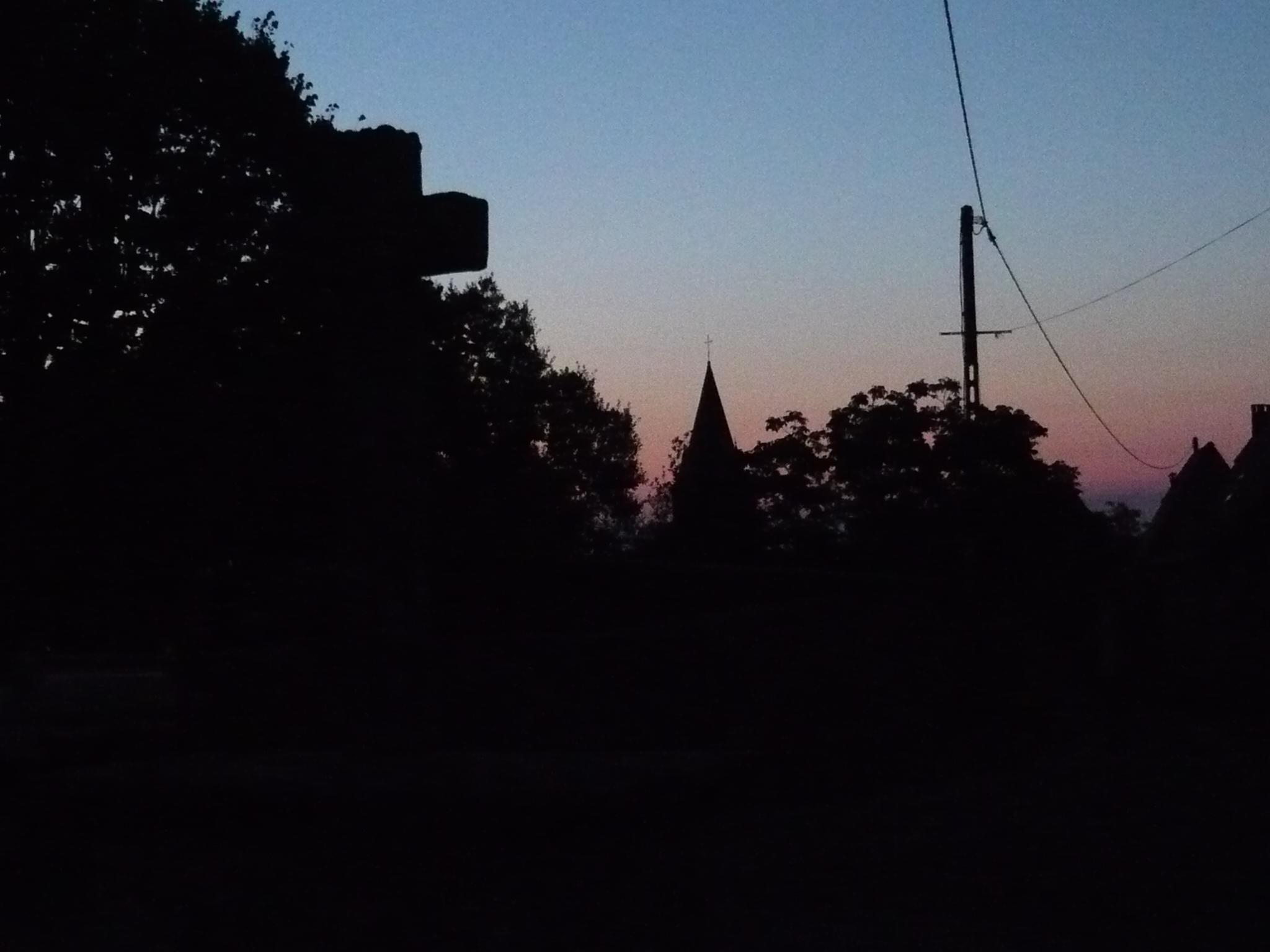 6 heures du matin, le jour se lève à peine