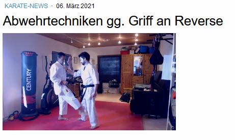 "Video ""Abwehrtechniken gg. Griff an Reverse"""