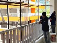 NNサムイ内部工事風景
