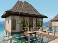 エルニド・ビーチ・リゾート 水上リゾート2