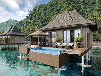 エルニド・ビーチ・リゾート 水上リゾート1