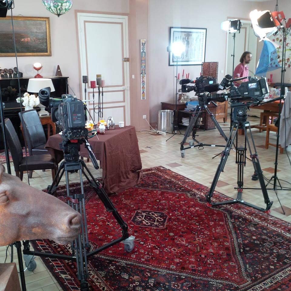 Tournage de TF1 au Château (4 mariages & une lune de miel) 2015