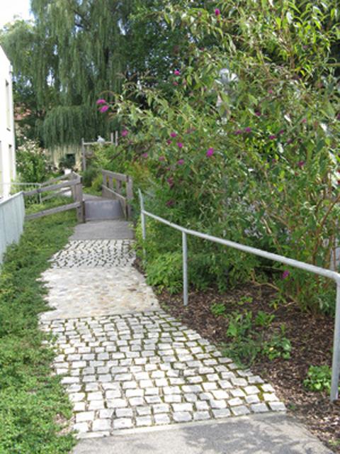 Rolliparcour Therapiegarten St.Isidor, Caritas