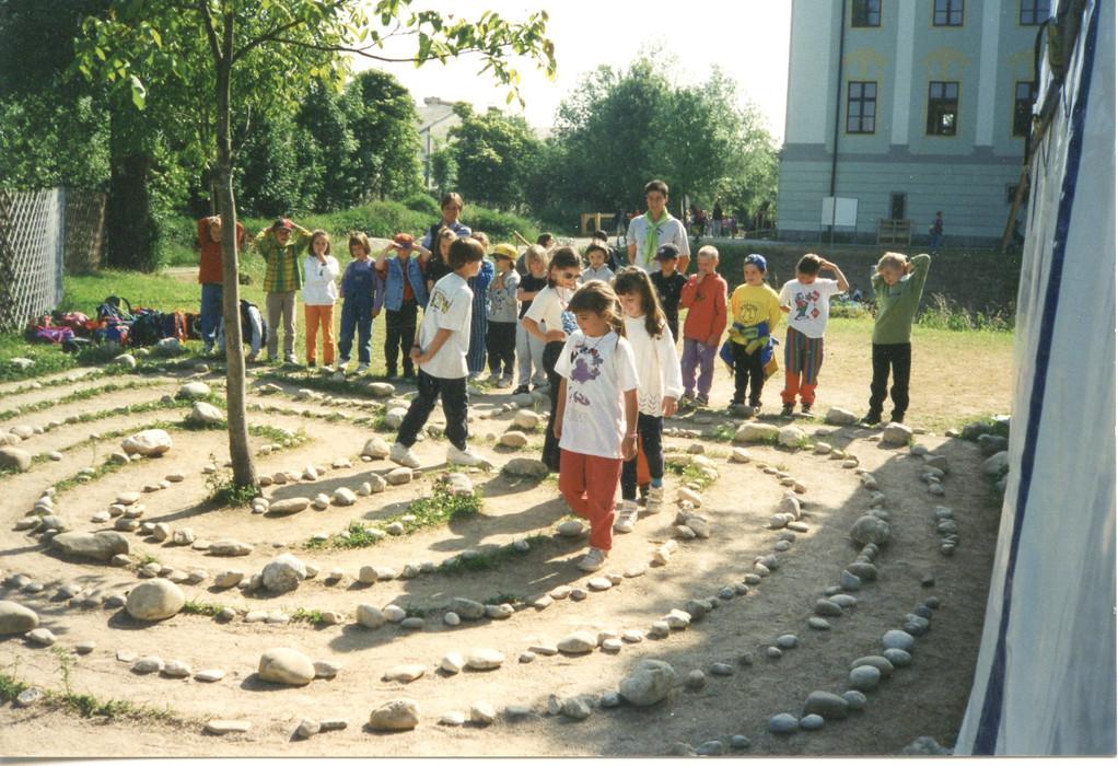 Labyrinth Erfahrungsfeld Traun
