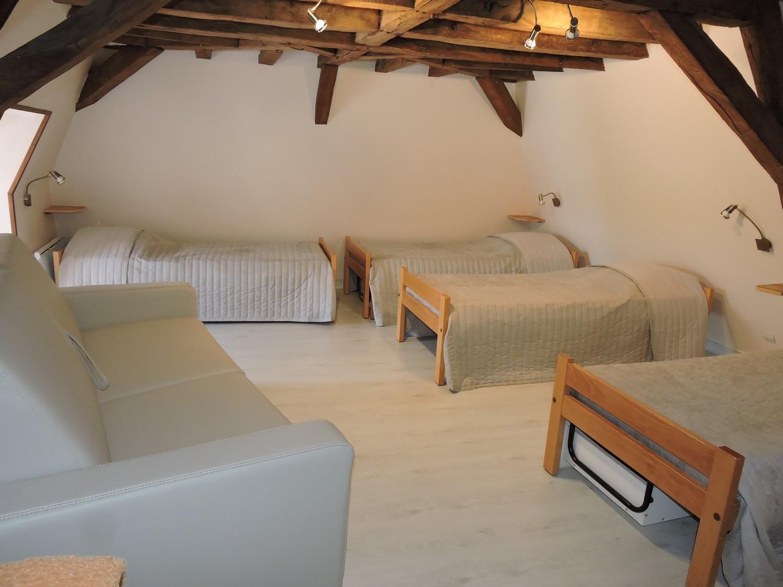 Embarcadère : chambre de 7 couchages
