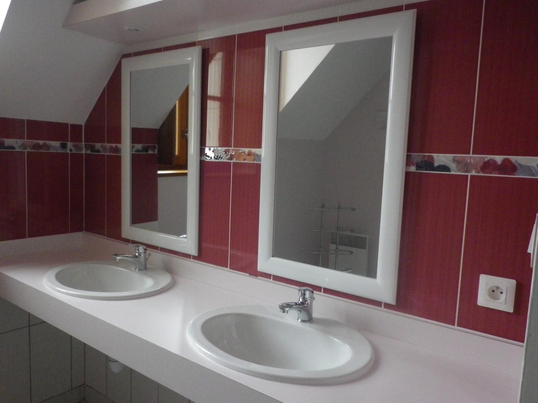Salle de bain sur le pallier