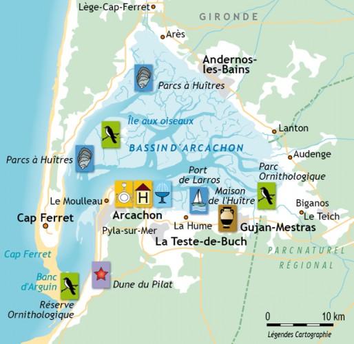 Le bassin d 39 arcachon location maison vacances arcachon - Office de tourisme arcachon location vacances ...