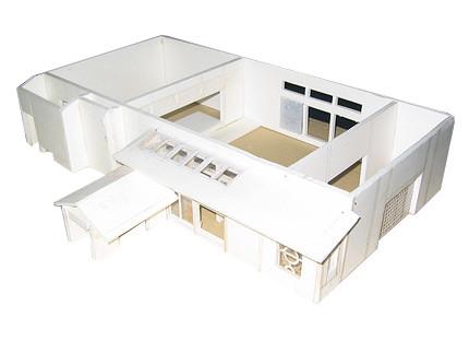 浄願寺模型