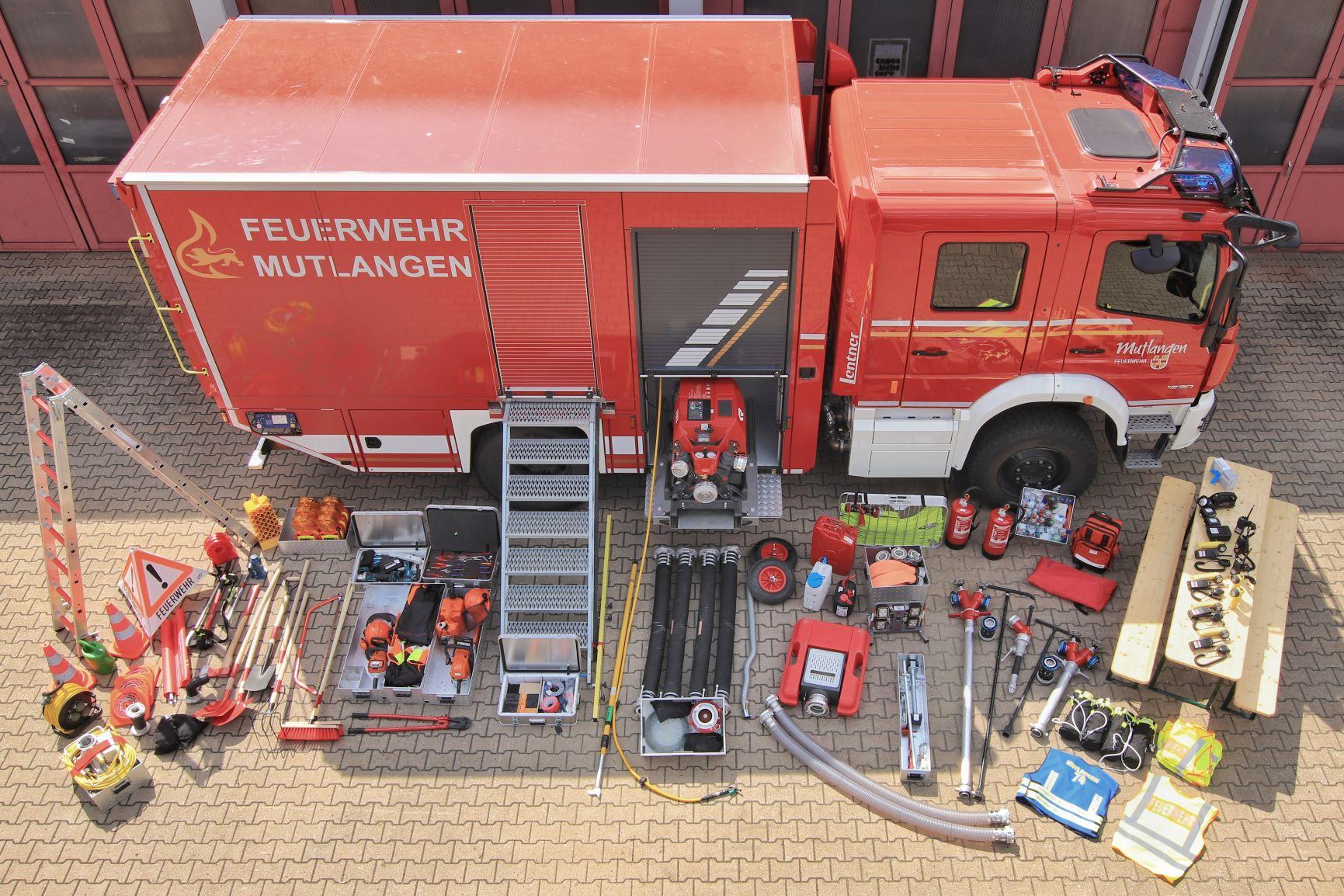 GW-L2, FF Mutlangen, Lentner auf Mercedes