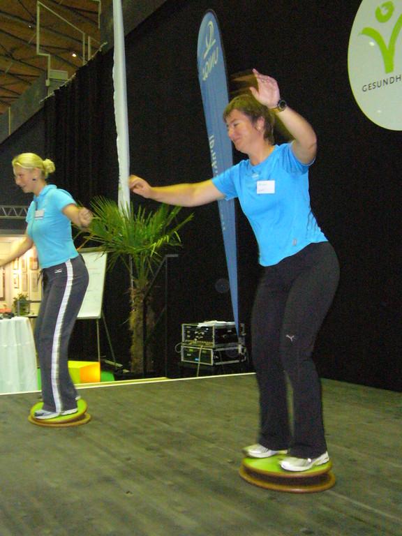 Action auf der Bühne