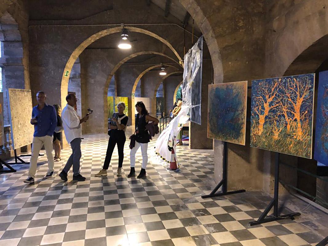 Christina Etschel - Artist - Ausstellung 2018 auf der 1. internationalen Biennale auf Mallorca