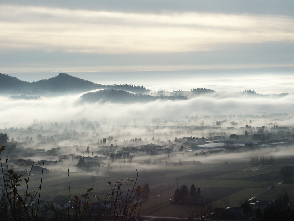 Aussicht, Hügel von Asolo