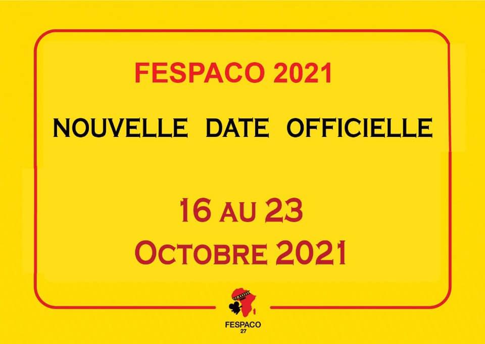 BURKINA FASO  : découvrez la nouvelle date du FESPACO 2021