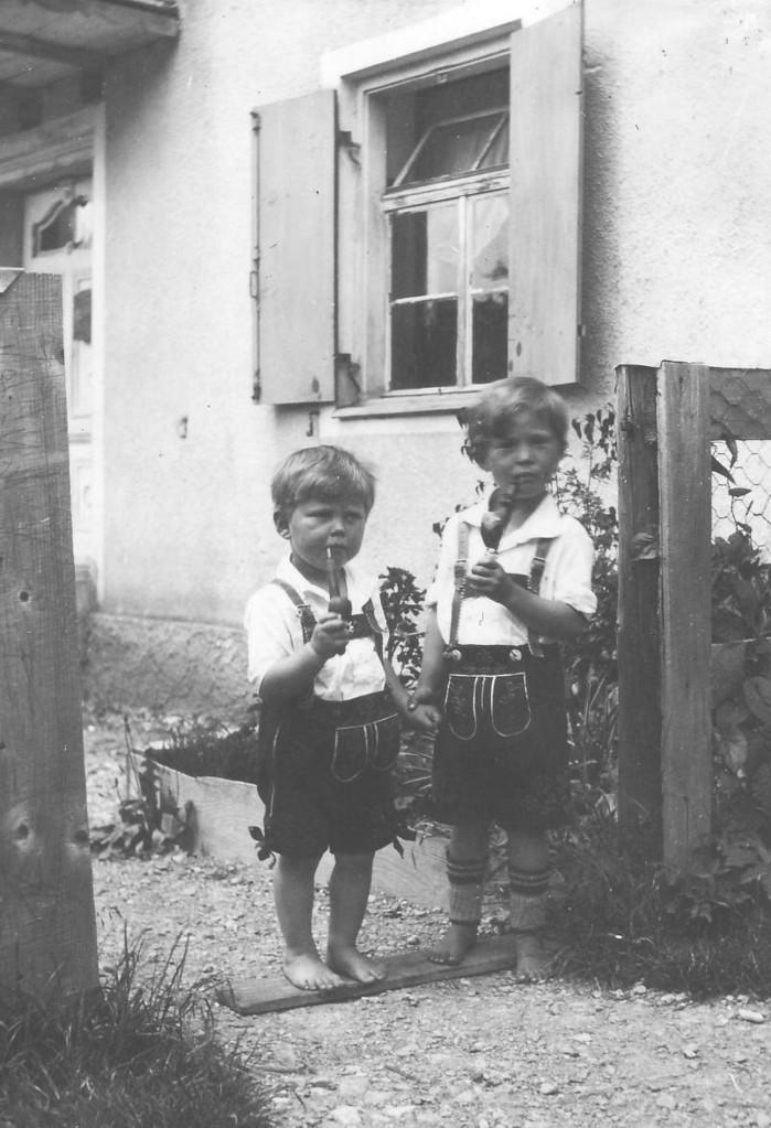 Siegfried und Helmut Gschwender