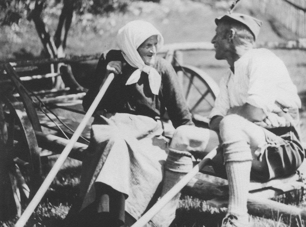 Hans Gschwender mit Mutter Johanna