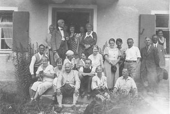 Hausgäste ca. 1930