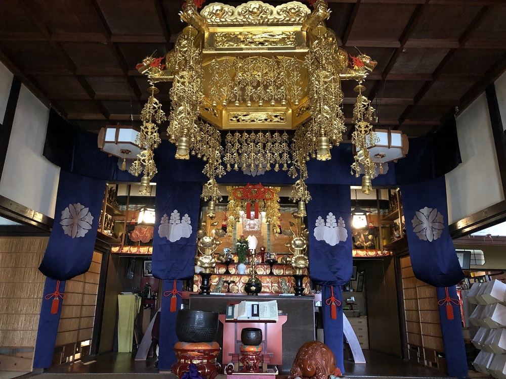 「崇禅寺」は江戸時代の姿を今に伝える神仏混合の寺