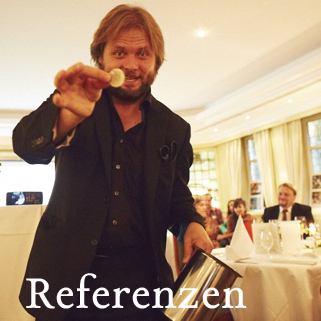 Referenzen zu Christian Knudsen, Zauberer in Hamburg