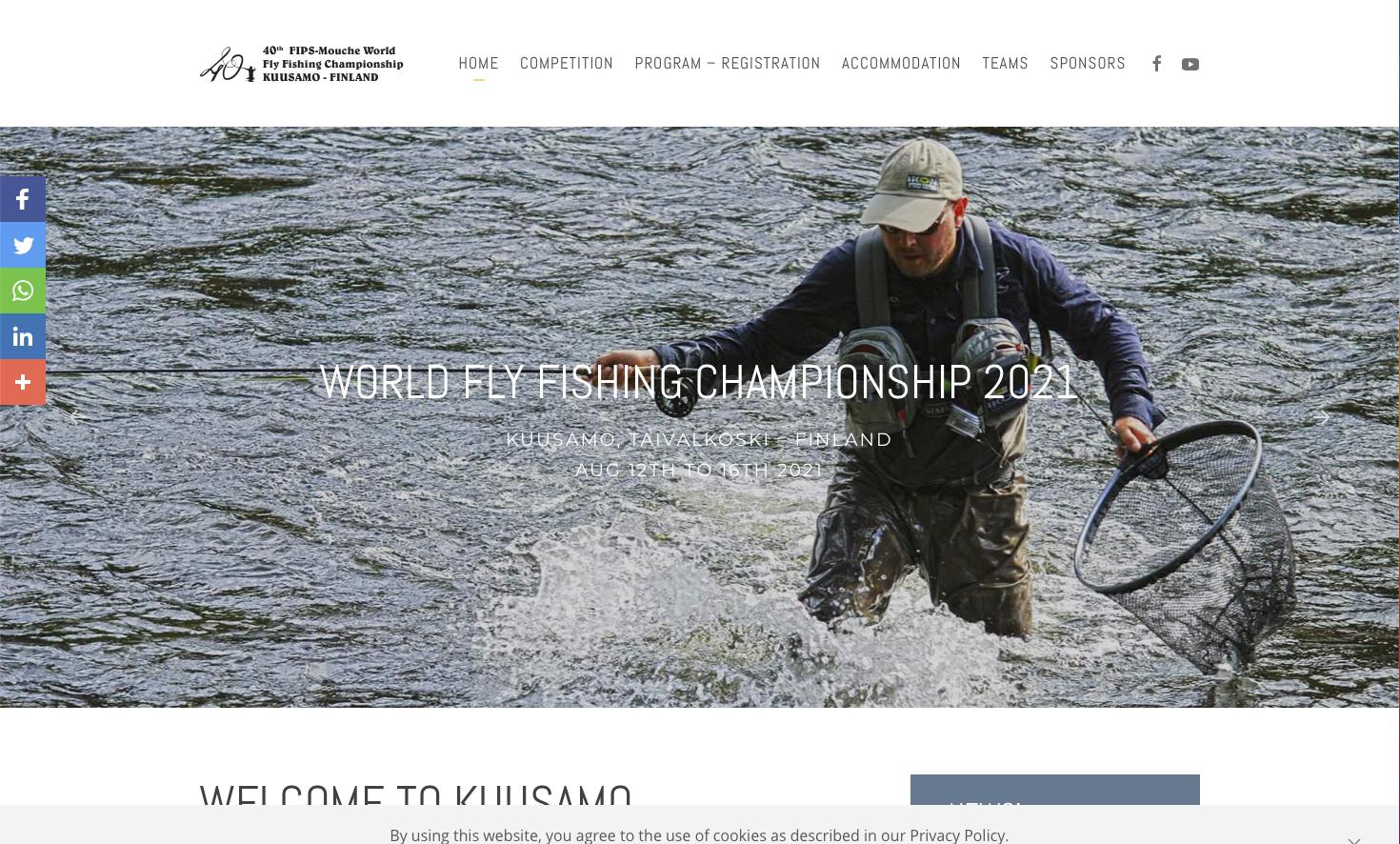 WORLD FLY FISHING CHAMPIONSHIP 2021