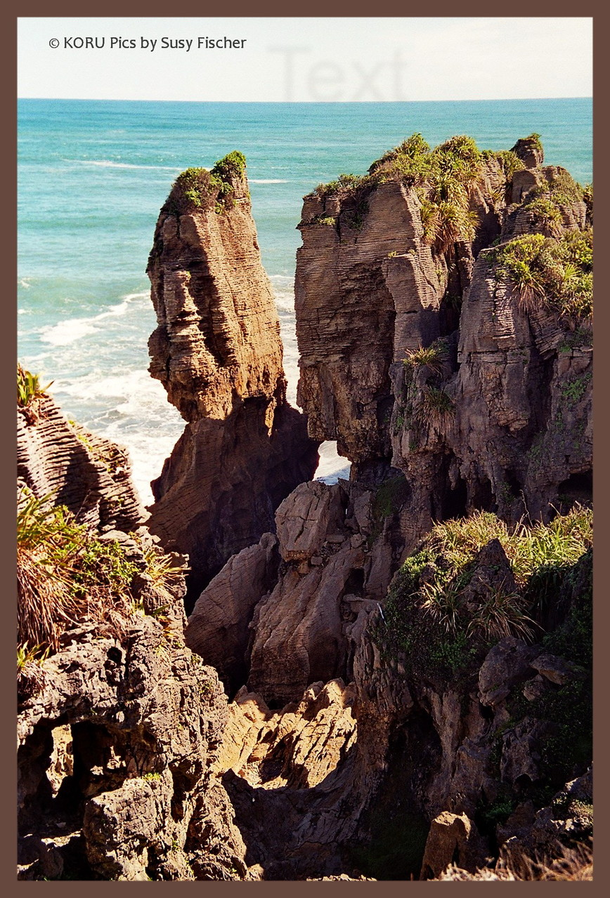 South Island: Pancake Rocks