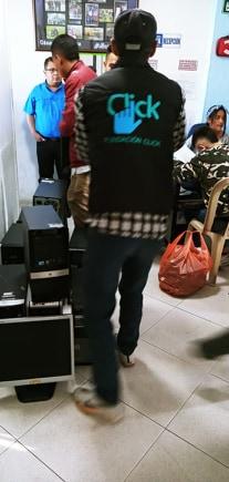 donación equipos de computo usados