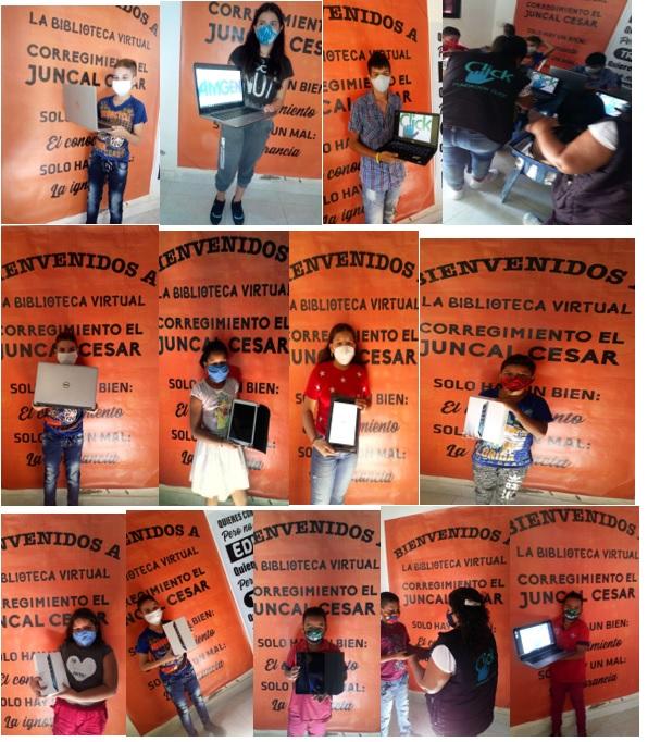 donación computadores Bogotá