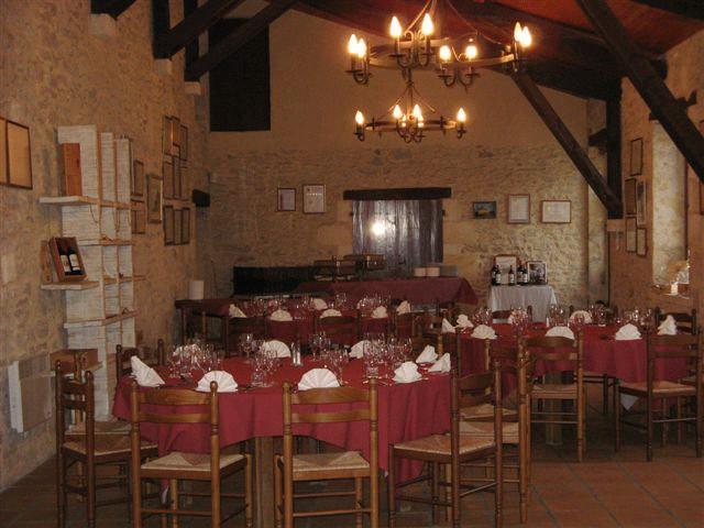 Château Segonzac (Verkostung Festsaal)