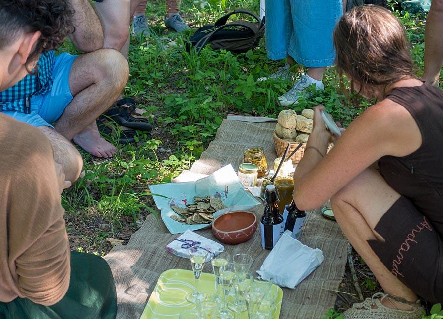 Picknick mit Kostproben, Foto Jim Martin