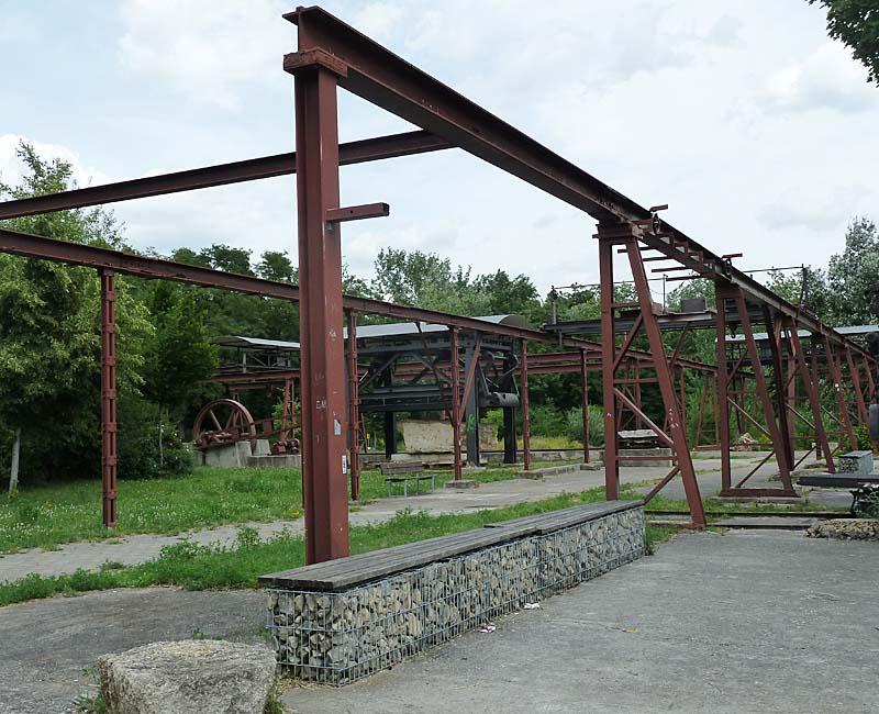 Hallschlag alte Bergbauanlagen