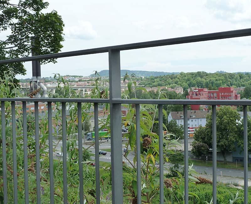 Panoramablick auf Stuttgart-Cannstadt