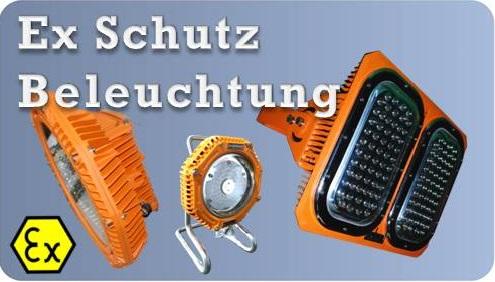 Produktauswahl EX Schuts Beleuchtung