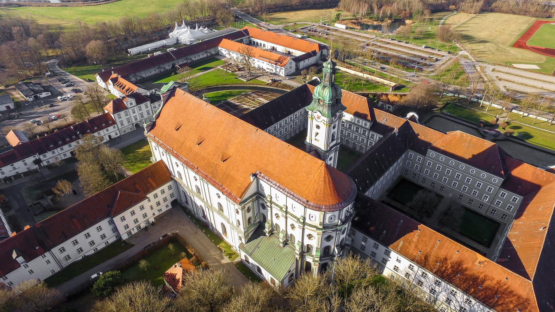 Kloster Fürstenfeld von Oben