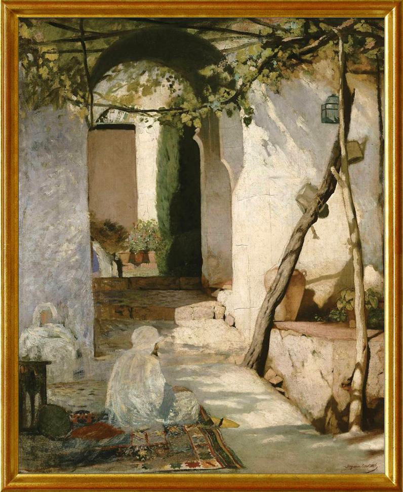 Constant, cour marocaine