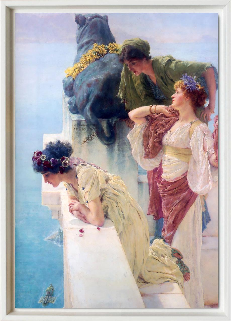 Alma Tadema, a coign of vantage