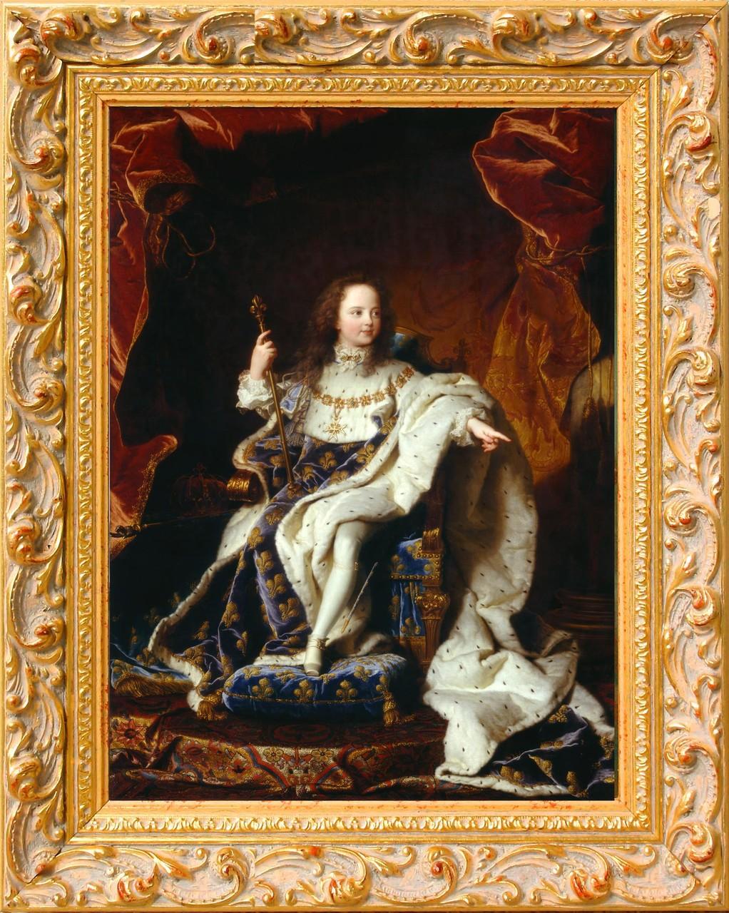 Rigault, Louis XIV enfant
