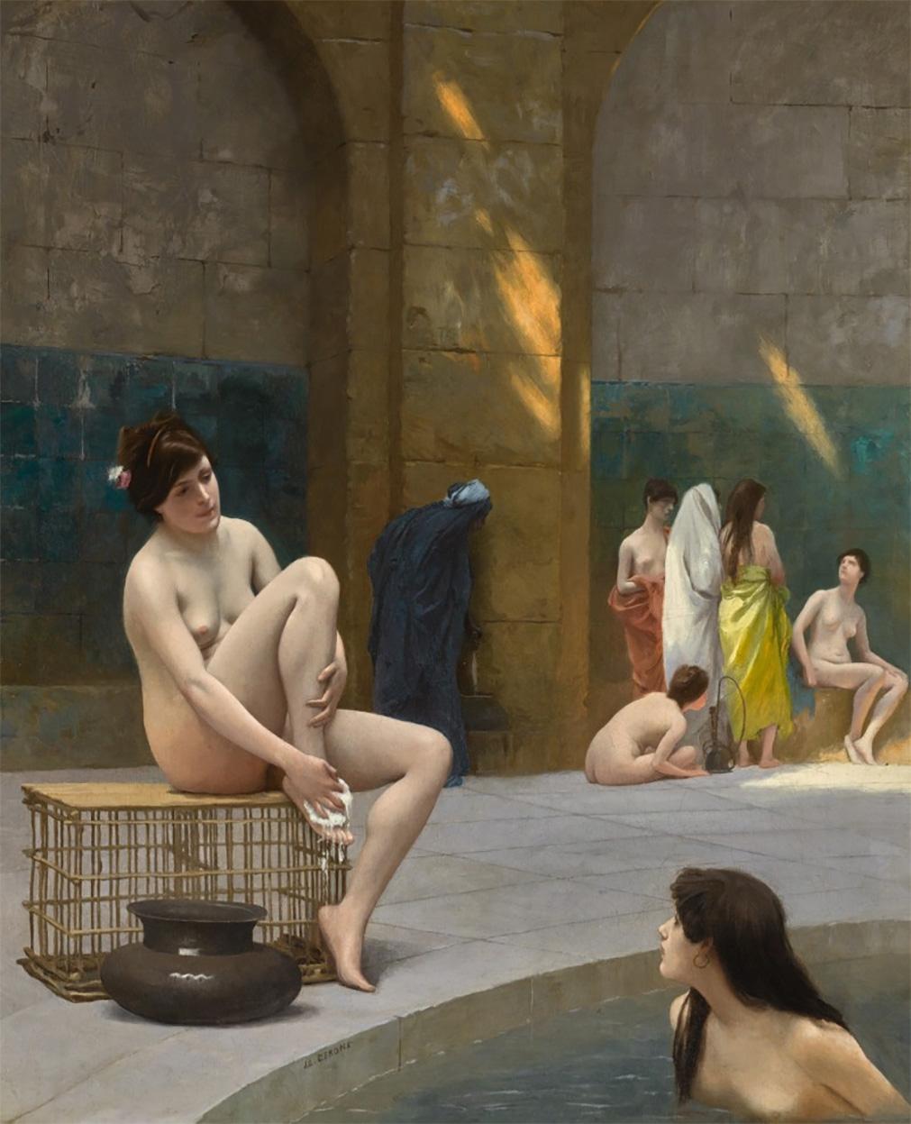 Gérôme, femmes au bain
