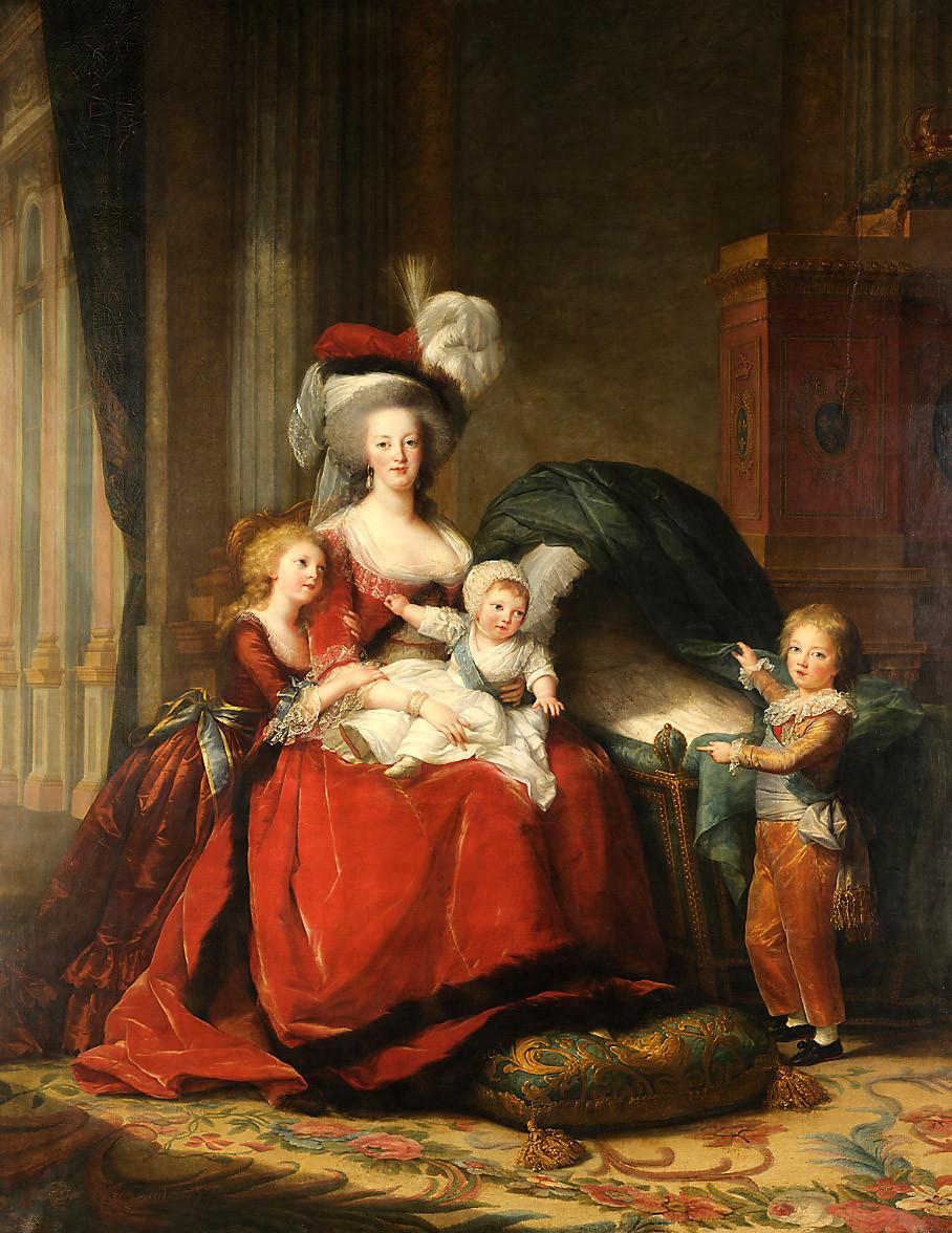 Vigée Lebrun, Marie Antoinette et ses enfants