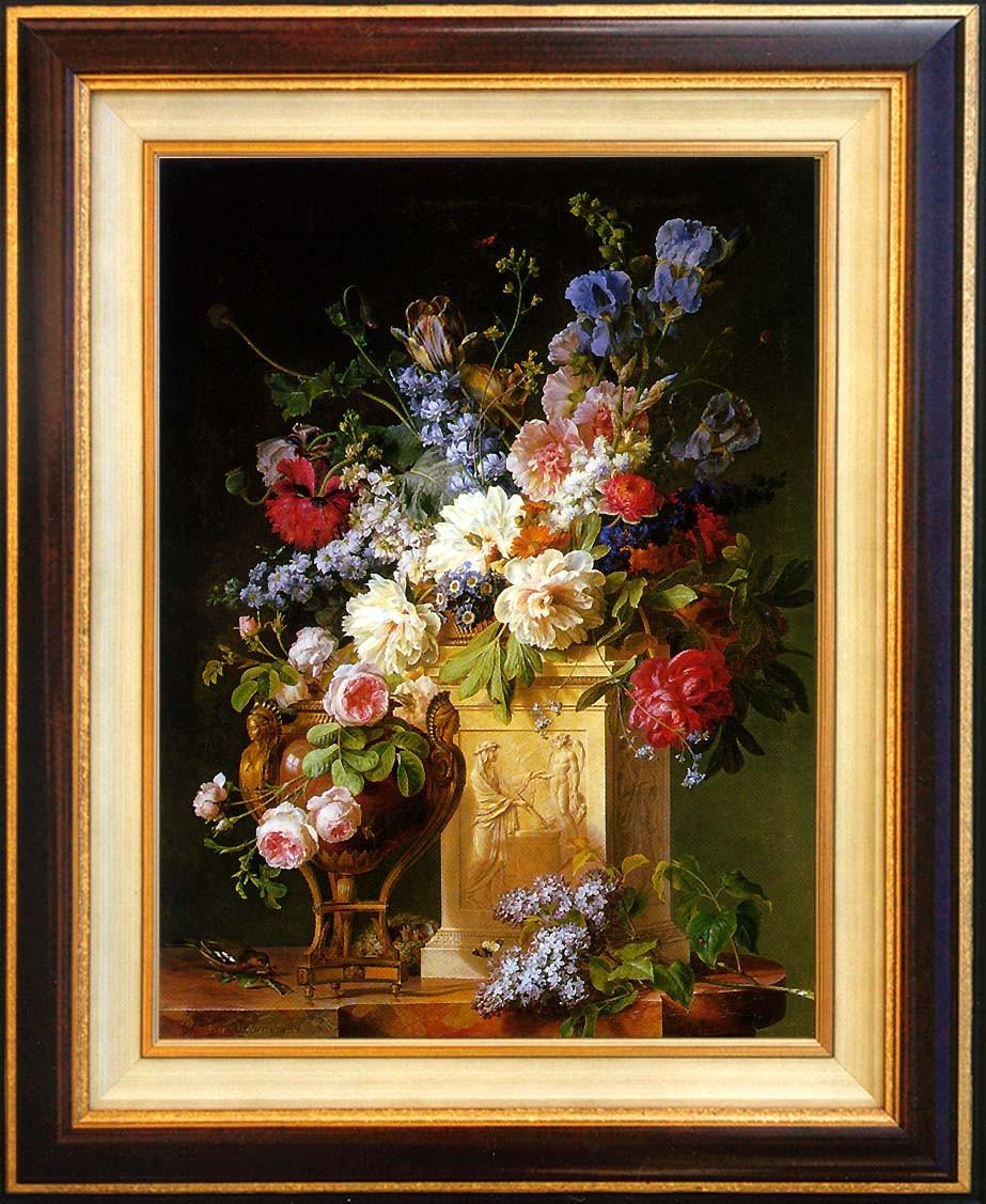 Spaendonk, vase de fleurs