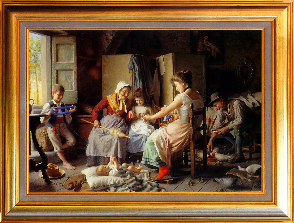 Torriglia, bonheur familial