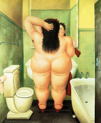 """Botero """"salle de bain"""""""
