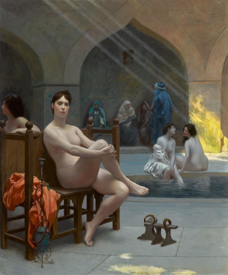 Gérôme, le bain des femmes