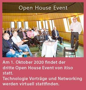 Am 5. September fand der zweite Open House Event von itiso im Hafen-Klub Hamburg statt. Mit über 80 Besuchern war das Interesse auch dieses Mal wieder sehr hoch. Das Konzept mit kurzweiligen Technologie-Vorträgen, genug Zeit zum Networken und dem Benutzervortrag von Beiersdorf kamen gut bei unseren Gästen an. Vielen Dank für Ihren Besuch. Klicken Sie bitte hier, für die Präsentationen!