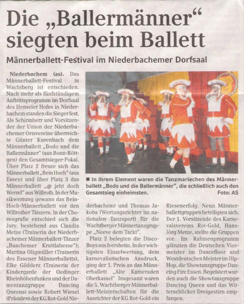 AUSZUG: Schaufenster Blickpunkt Bad Godesberg 11.02.2009