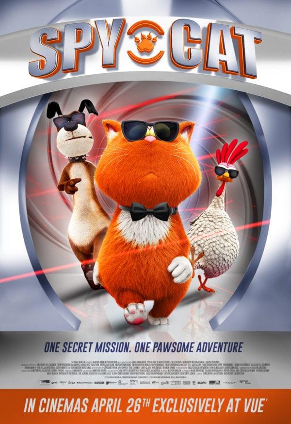 spy cat ,  萌宠特工队  , die sagenhaften vier