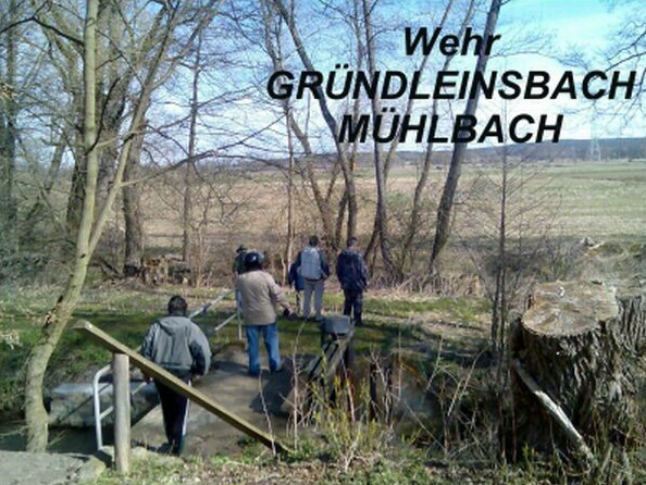 Wehr Gründleinsbach / Mühlbach
